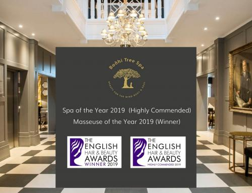 Bodhi Tree Spa win twice at English Hair and Beauty Awards 2019